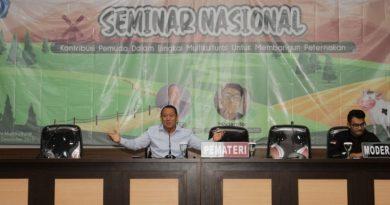 Ciptakan SDM Unggul, SMF-Fapet Unikama Gelar Seminar Nasional